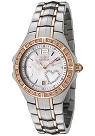 Invicta 0694 Women's Wildflower Diamond/Crystal Two Tone Watch [Watch] Invicta