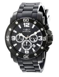 Invicta Men's 18168 Pro Diver Analog Display Japanese Quartz Black Watch