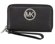 Michael Kors Fulton Multifunction Phone Case (Black)  32H5SFTE4L-001
