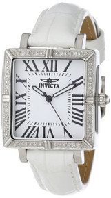 Invicta 12410 Ladies Wildflower Diamond Accented Interchangeable White Dial 5...