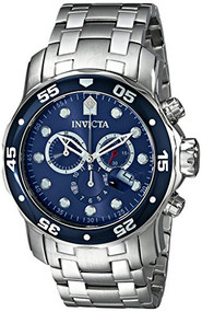 Invicta Men's 0070 Pro Diver Collection Stainless Steel Watch with Link Brace...
