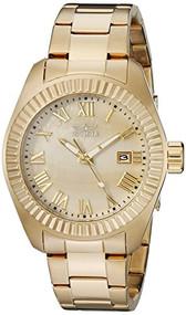 Invicta Women's 20316SYB Angel Analog Display Quartz Gold Watch