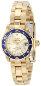 Invicta Women's 4610 Pro Diver Collection 18k Gold-Plated Watch [Watch] Invicta