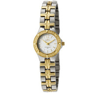 Invicta Women's 0130 Wildflower Collection 18k Gold-Plated and Stainless Stee...