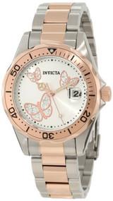 Invicta Women's 12504 Pro Diver Silver Dial Two Tone Watch [Watch] Invicta
