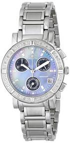 Invicta Women's 0610 Wildflower Collection Diamond Chronograph Watch [Watch] ...