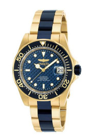 Invicta Men's Pro Diver Blue Steel Bracelet & Case Automatic Analog Watch 90185 …