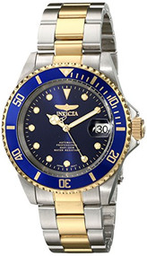 Invicta Men's 17045 Pro Diver Analog Display Japanese Automatic Two Tone Watch