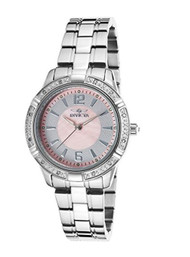 Invicta Women's 19355 Angel Analog Display Japanese Quartz Silver Watch