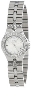 Invicta Women's 0132 Wildflower Collection Crystal Accented Stainless Steel W...