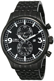 Invicta Men's 0367 II Collection Black Ion-Plated Stainless Steel Watch [Watc...