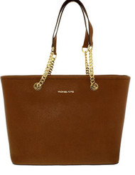 Michael Kors Jet Set Travel Chain Top Zip Mult Funt Tote, Luggage 30T6GJ8T6L-230