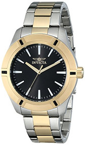 Invicta Men's 17896SYB Pro Diver 18k Gold Ion-Plated and Stainless Steel Watch