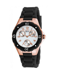 Invicta Women's 18799 Angel Analog Display Japanese Quartz Black Watch
