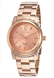 Invicta Women's 17421 Angel Analog Display Swiss Quartz Rose Gold Watch [Watc...