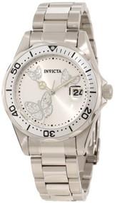 Invicta Women's 12503 Pro Diver Silver Dial Watch [Watch] Invicta