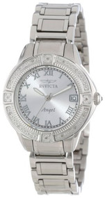 Invicta Women's 14801 Angel Stainless Steel and Diamond Bracelet Watch [Wat...