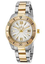 Invicta Women's 'Pro Diver' Quartz Stainless Steel Casual Watch (Model: 21910)
