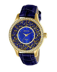 Invicta Angel Blue Mother of Pearl Dial Ladies Watch 24590