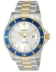 Invicta Men's 'Pro Diver' Quartz Stainless Steel Casual Watch (Model: 22061)