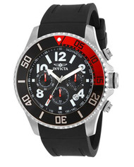 Invicta Men's 15145 Pro Diver Stainless Steel Watch With Black Polyurethane Band …