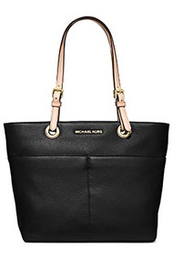 Micheal Kors Bedford Women's Leather Tote Handbag Black