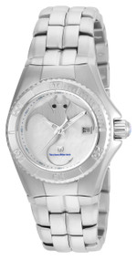 TechnoMarine Women's Cruise Quartz Stainless Steel Casual Watch, Color:Silver-Toned TM-115185
