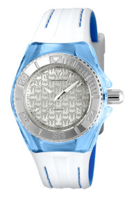 Technomarine Women's TM-115158 Cruise Monogram Quartz Silver Dial Watch