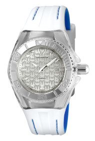 Technomarine Women's TM-115155 Cruise Monogram Quartz Silver Dial Watch