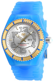 Technomarine Men's TM-115143 Cruise JellyFish Quartz Silver Dial Watch