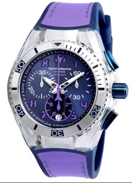 Technomarine Unisex TM-115021 Cruise California Quartz Blue, Purple Dial Watch