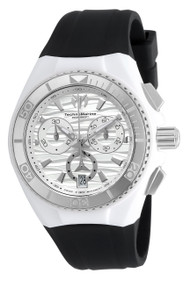 Technomarine Unisex TM-115050 Cruise Original Quartz Chronograph Antique Silver Dial Watch