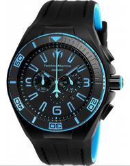 Technomarine Men's TM-115058 Cruise Night Vision Quartz Black Dial Watch