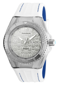 Technomarine Men's TM-115151 Cruise Monogram Quartz Silver Dial Watch