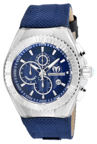 TechnoMarine Men's TM-115174 Cruise BlueRay Quartz 3 Hand Blue Dial Watch
