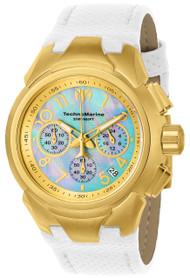 TechnoMarine Women's TM-715034 Sea Dream Quartz  Platinum Dial Watch