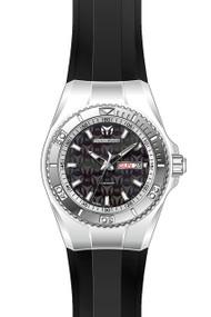 TechnoMarine Women's TM-115323 Cruise Monogram Quartz Black Dial Watch