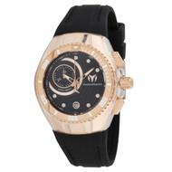TechnoMarine Women's TM-115382 Cruise One Quartz Multifunction Black Dial Watch