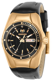 Technomarine Women's TM-115387 Cruise Quartz Black Dial Watch