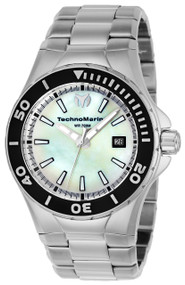 Technomarine Men's TM-216004 Manta Quartz White Dial Watch