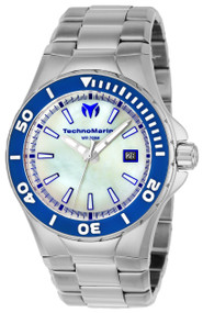 Technomarine Men's TM-216005 Manta Quartz White Dial Watch