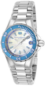 Technomarine Women's TM-216007 Manta Quartz White Dial Watch