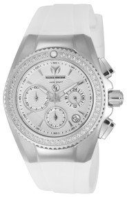 TechnoMarine Women's TM-416001 Eva Longoria Quartz White Dial Watch
