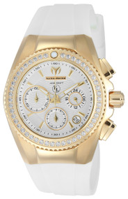 TechnoMarine Women's TM-416002 Eva Longoria Quartz 3 Hand White Dial Watch