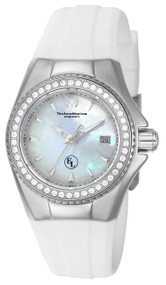 TechnoMarine Women's TM-416009 Eva Longoria Quartz 3 Hand White Dial Watch