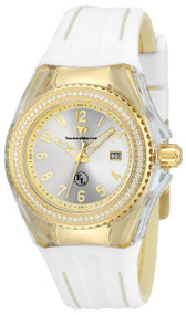Technomarine Women's TM-416025 Eva Longoria Quartz 3 Hand Silver Dial Watch