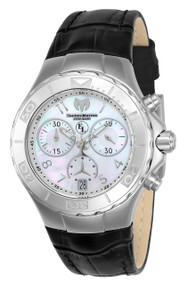 TechnoMarine Women's TM-416033 Eva Longoria Quartz 3 Hand White Dial Watch