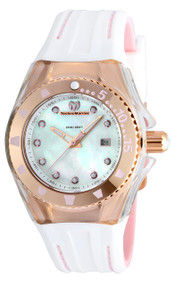Technomarine Women's TM-115222 Cruise Locker Quartz White Dial Watch