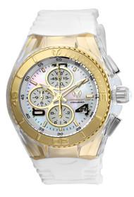 TechnoMarine Women's TM-115309 Cruise JellyFish Quartz Multifunction White Dial Watch