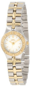 Invicta Women's 0136 Wildflower Collection 18k Gold-Plated Stainless Steel ...
